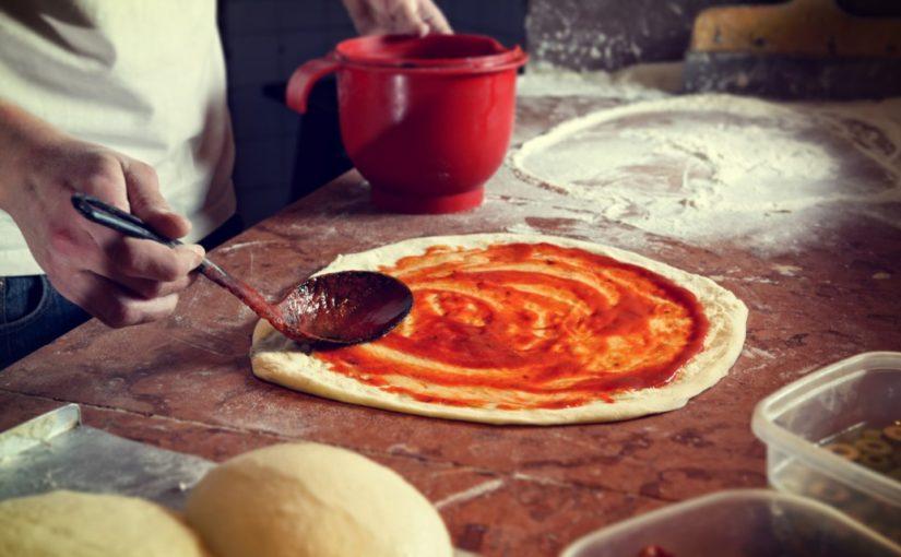 przechowywanie ciasta na pizze